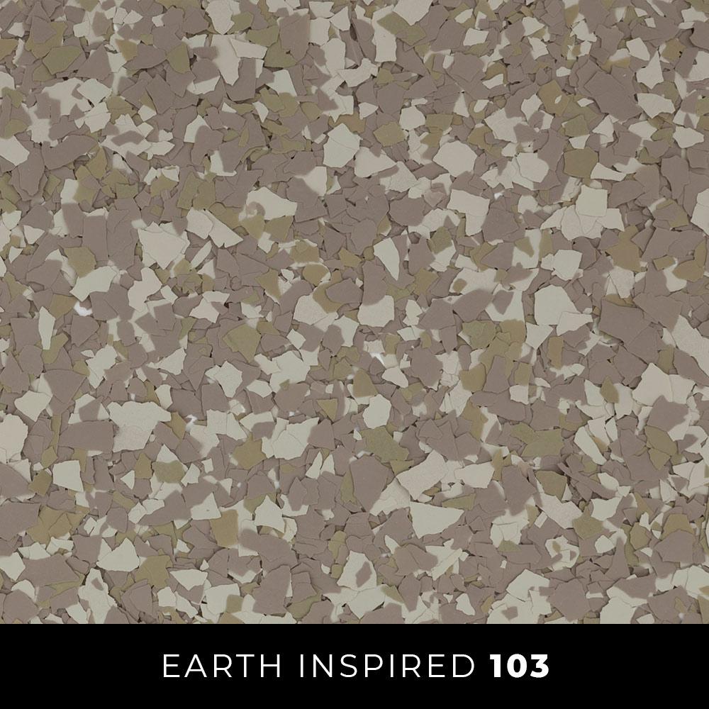 103 Earth Inspired Epoxy Flake Thumb