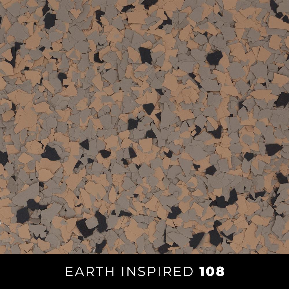 108 Earth Inspired Epoxy Flake Thumb