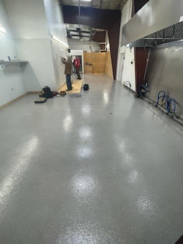 Industrial Warehouse Epoxy Floor - after